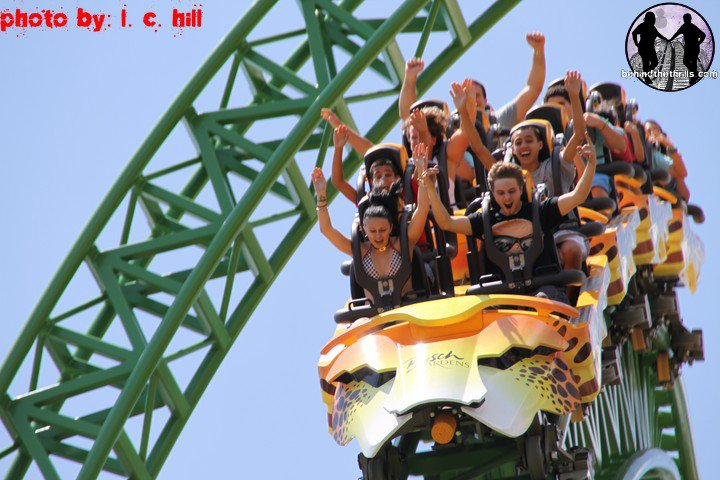 Behind The Thrills Cheetah Hunt Officially Opens Up To The Public At Busch Gardens Tampa