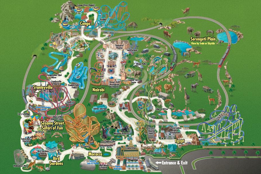 Behind The Thrills Busch Gardens Tampa