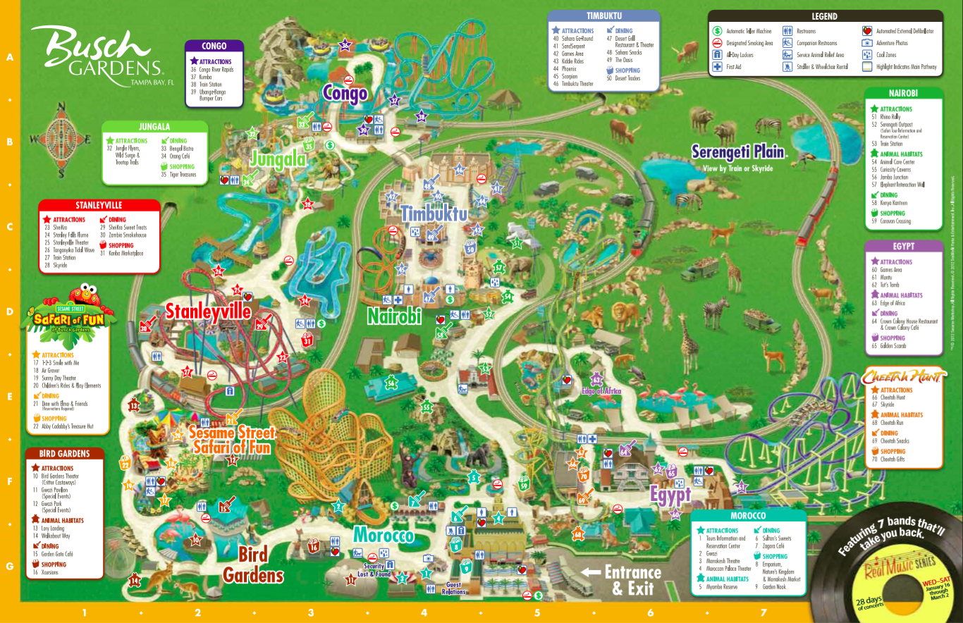 Take An Orlando Timeshare Preview And Get Busch Gardens In Tampa Busch Gardens Tampa Florida