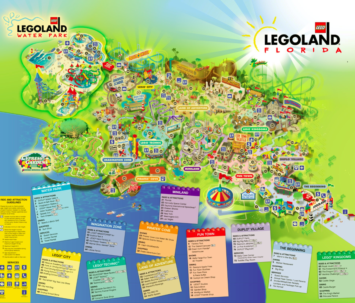 Legoland Map 2014 Images Amp Pictures  Becuo
