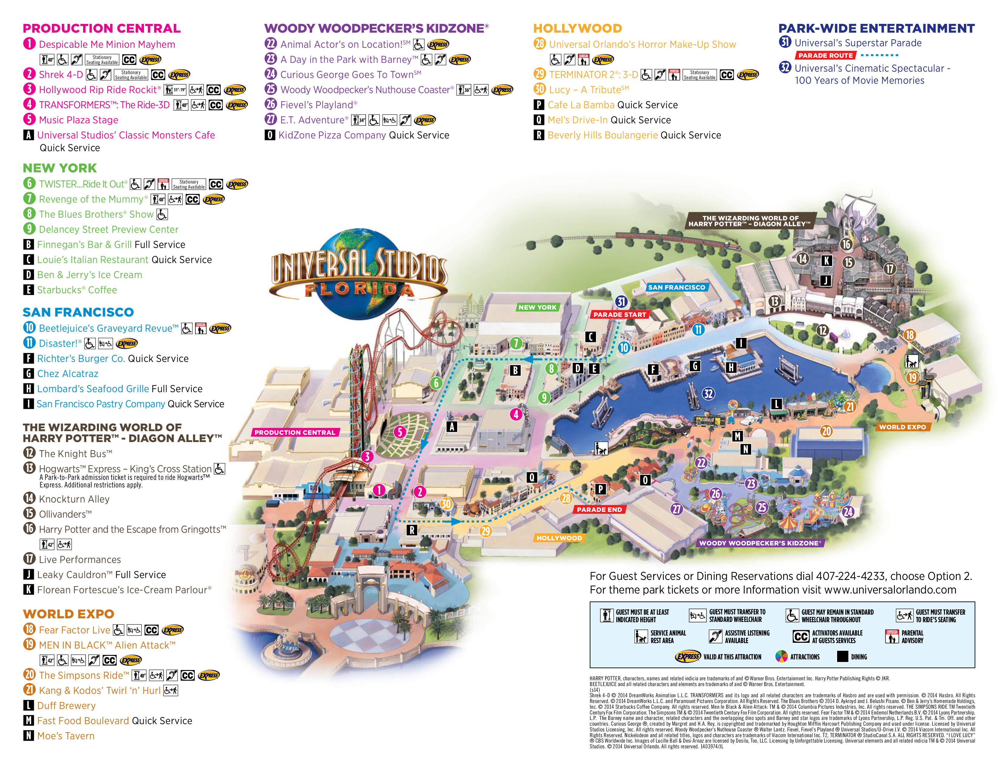 ... Studios Hollywood Map 2016. View Original . [Updated on 02/11/2016 at