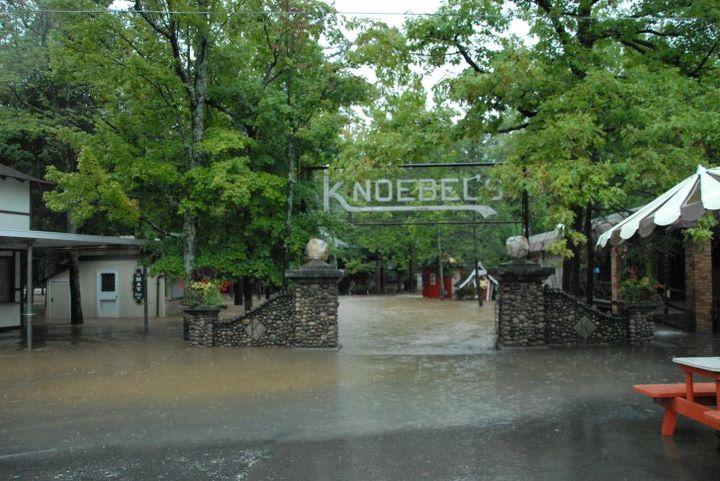 Behind The Thrills Tropical Storm Lee Floods Knoebels