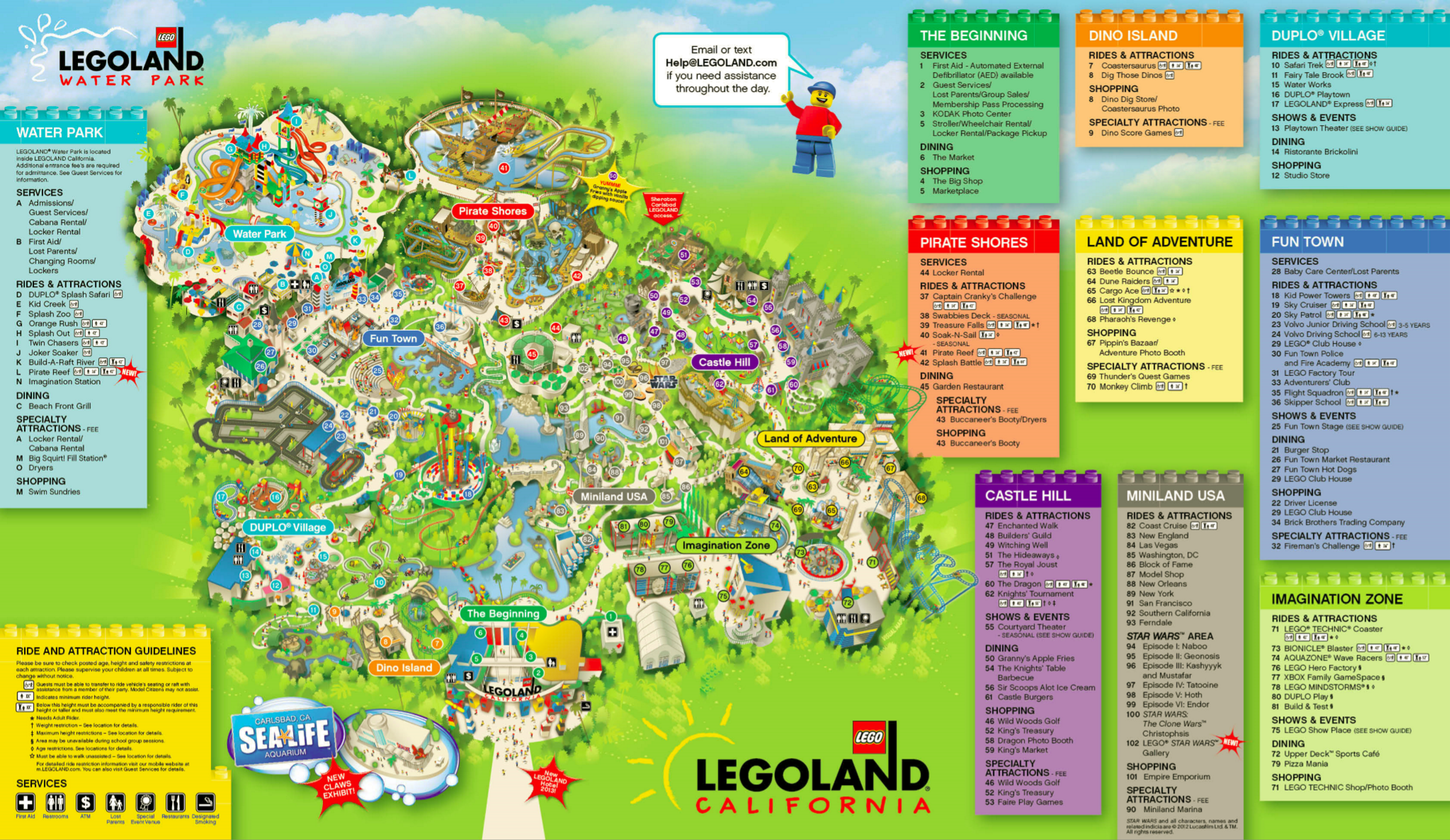 Legoland Florida 2015 Map Related Keywords Amp Suggestions