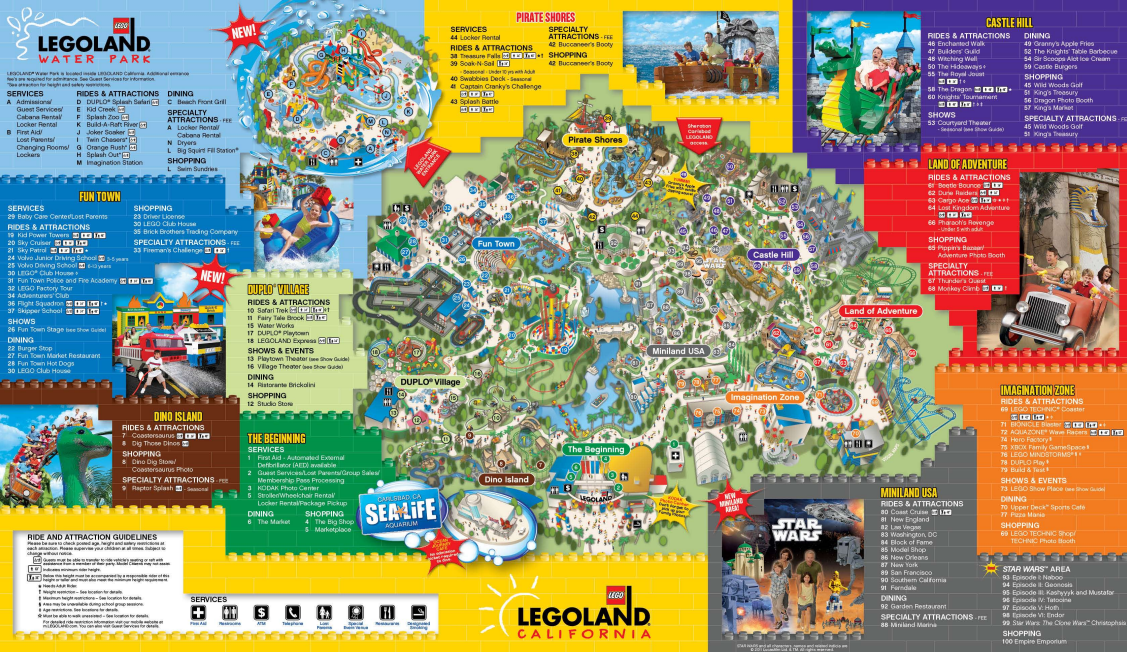 Pics Photos  Map California Legoland