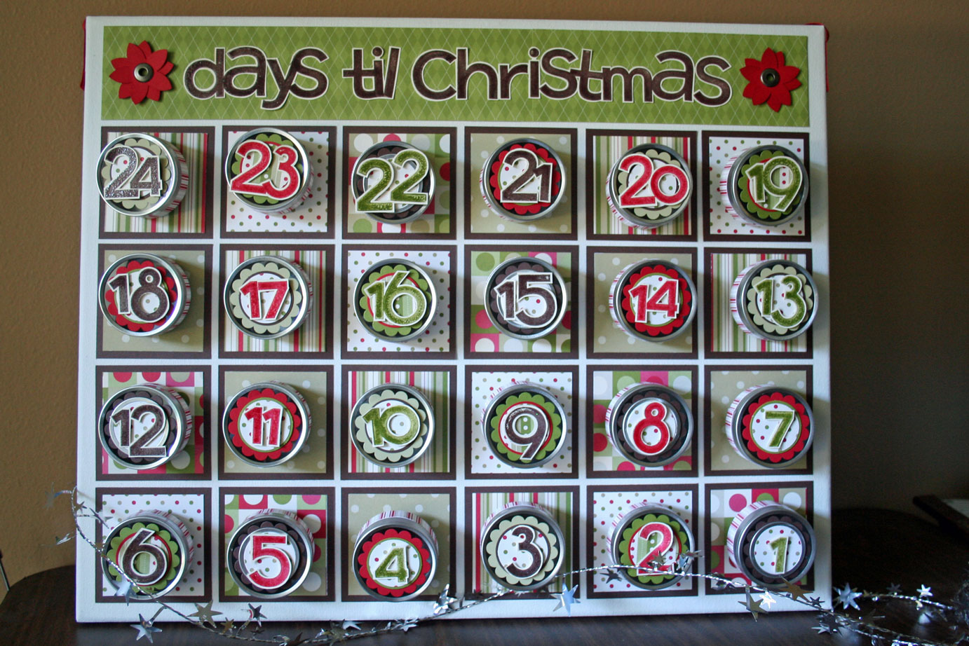 Behind The Thrills Eriks Advent Calendar 24 Days Til Christmas