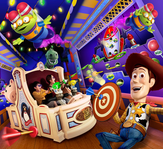 Behind The Thrills Toy Story Mania Opening At Tokyo