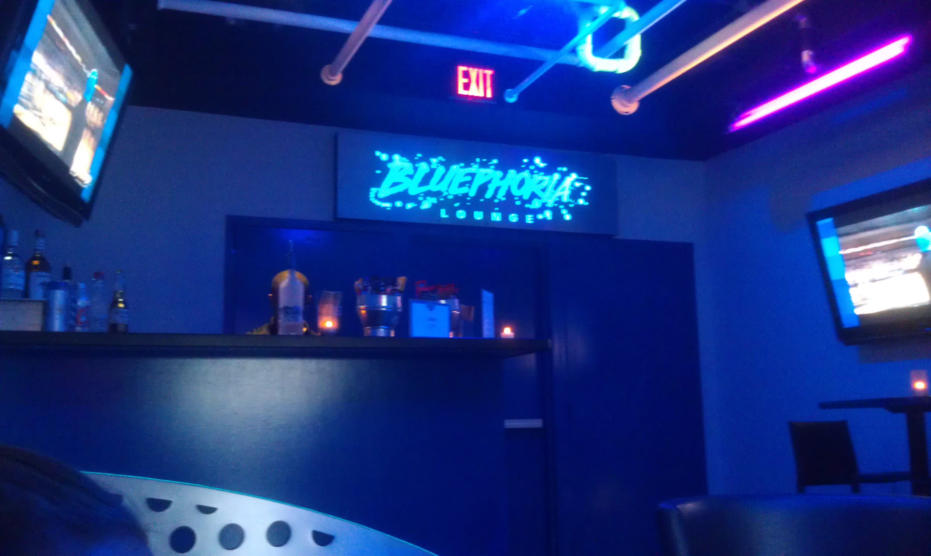 Behind the thrills bluephoria lounge at blue man group orlando value above the crowds - Blue man group box office ...