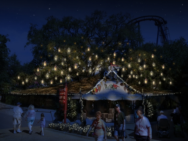 Behind The Thrills Christmas Town At Busch Gardens Tampa Hopes To Start A New Christmas Tradition