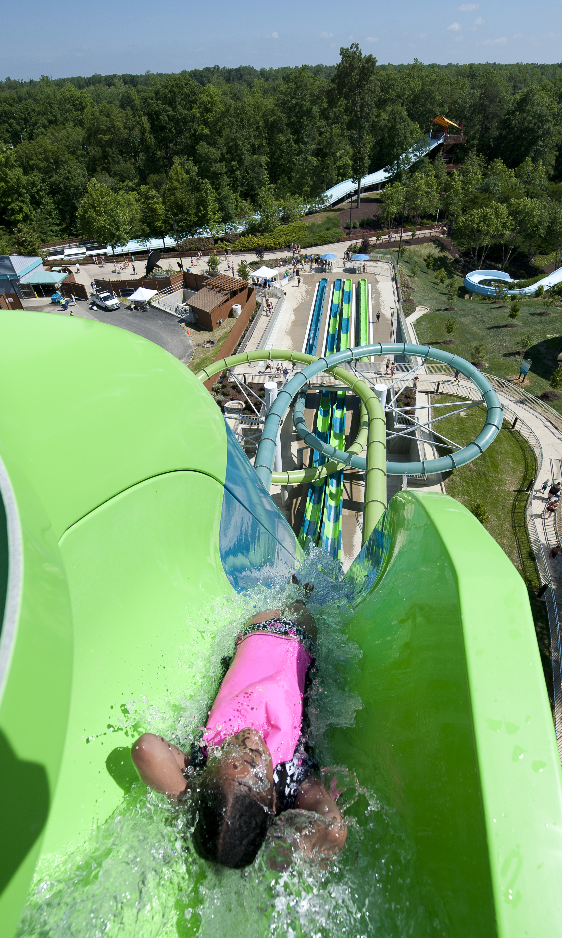 Behind the Thrills Busch Gardens Williamsburg and Water Country