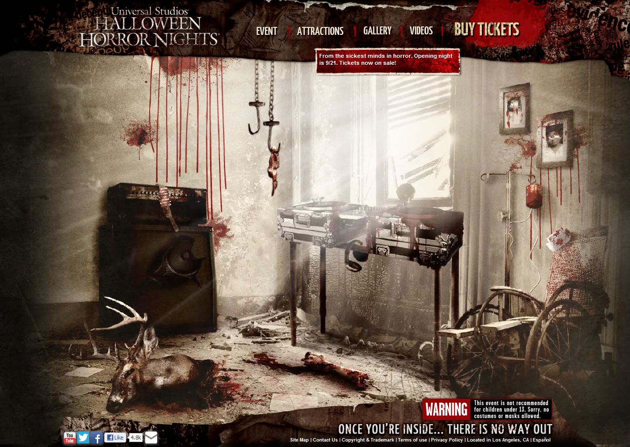 universal - Halloween Universal Studios Tickets
