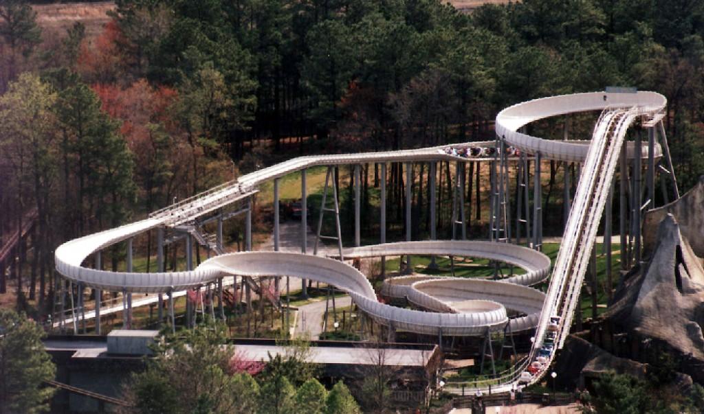Roller Coaster Demolition : Behind the thrills cedar point disaster transport