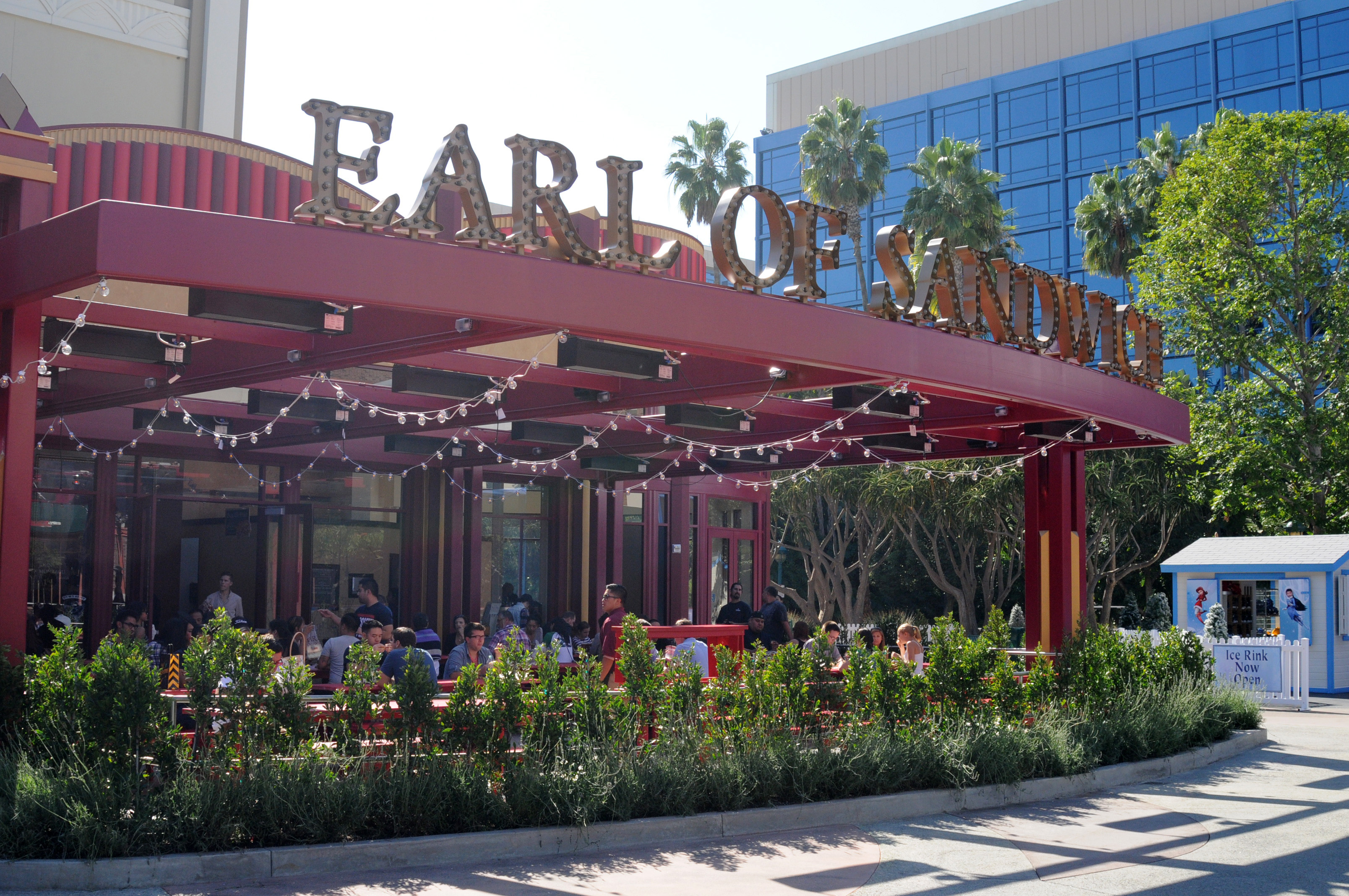 Behind the thrills earl of sandwich now open at downtown for King s fish house anaheim