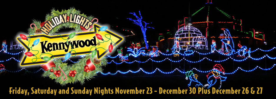 Behind the Thrills | Kennywood Holiday Lights Brighten Up The Night!