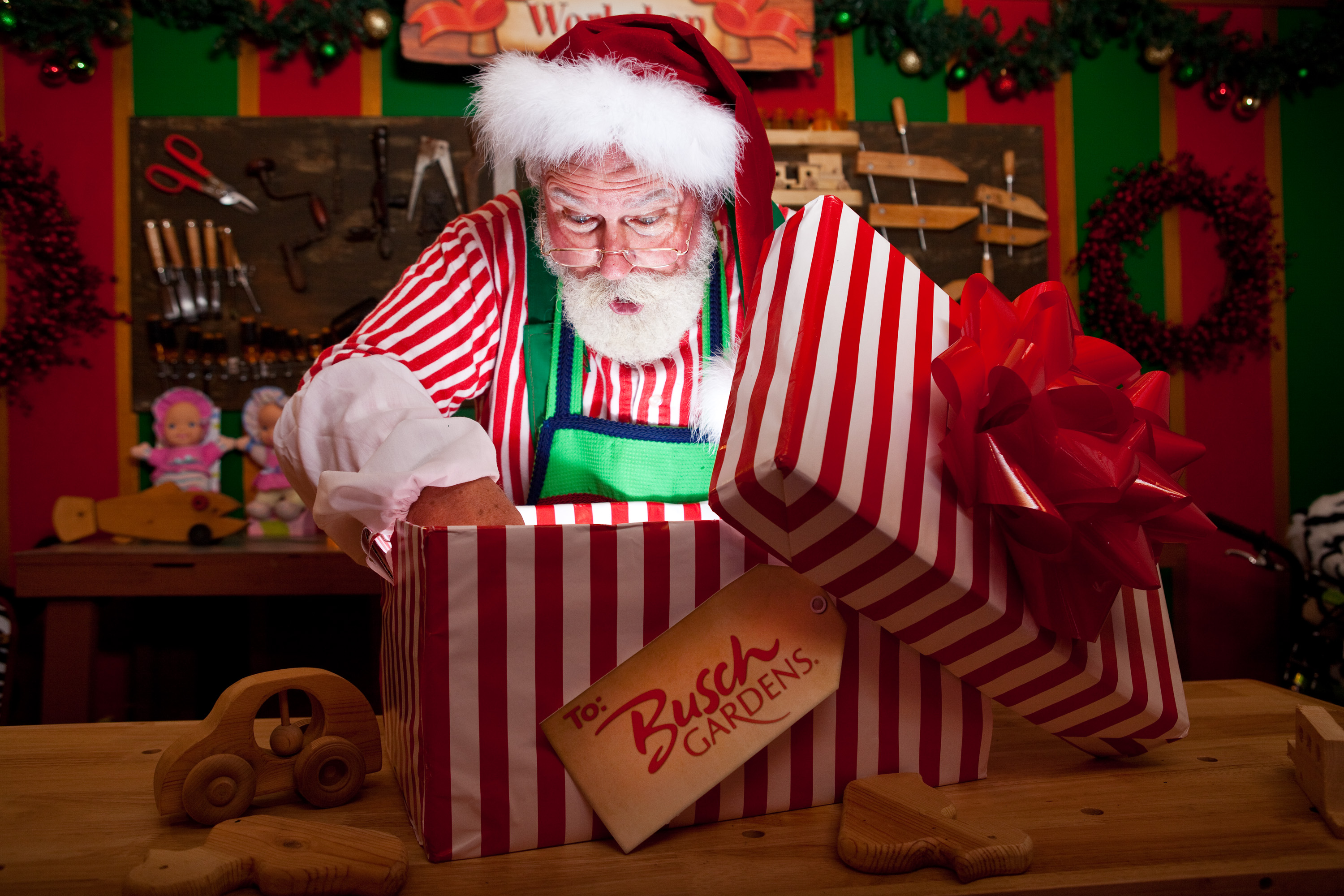 behind the thrills tickets for christmas town at busch gardens