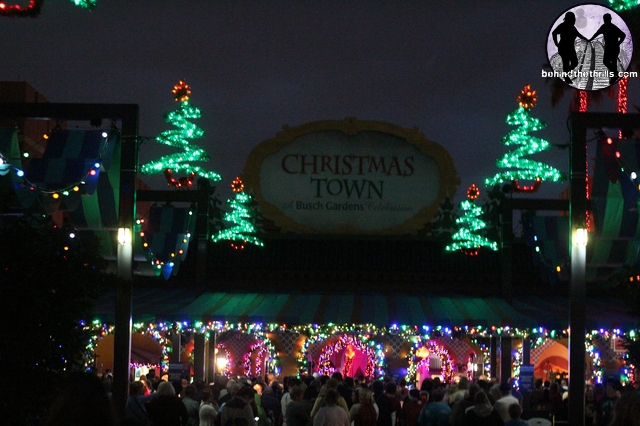 Behind The Thrills Christmas Town At Busch Gardens Tampa Is Festive New Family Tradition