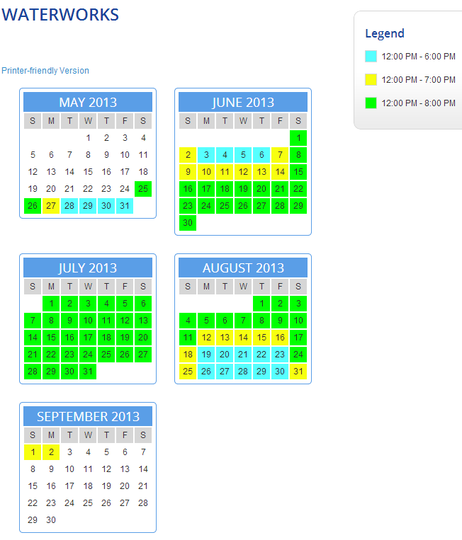 Kings X Tour Schedule