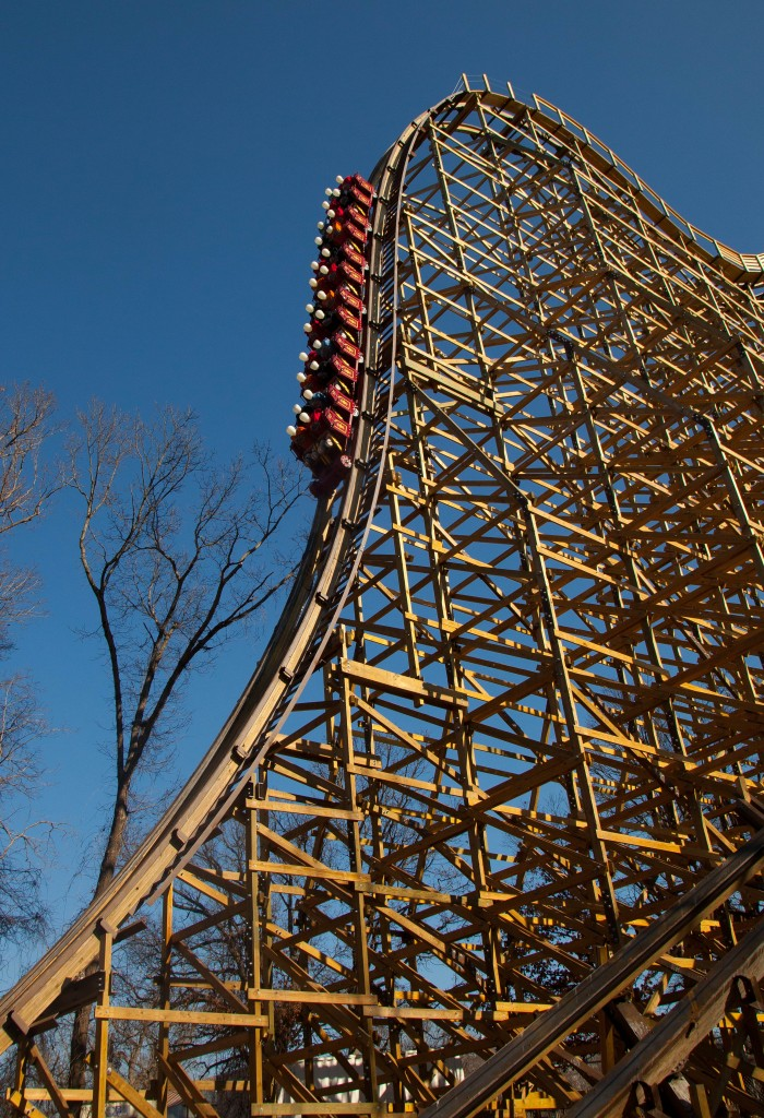OutlawRun test rides first drop