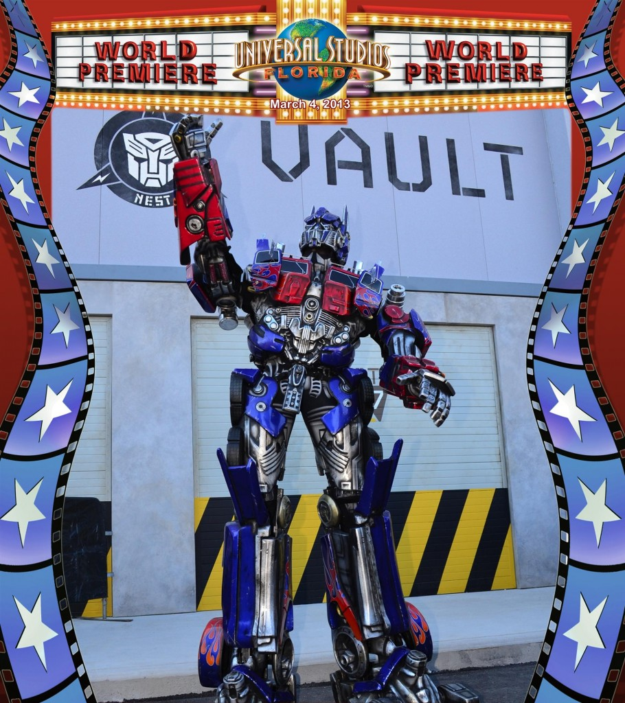 Optimus Prime World Premier