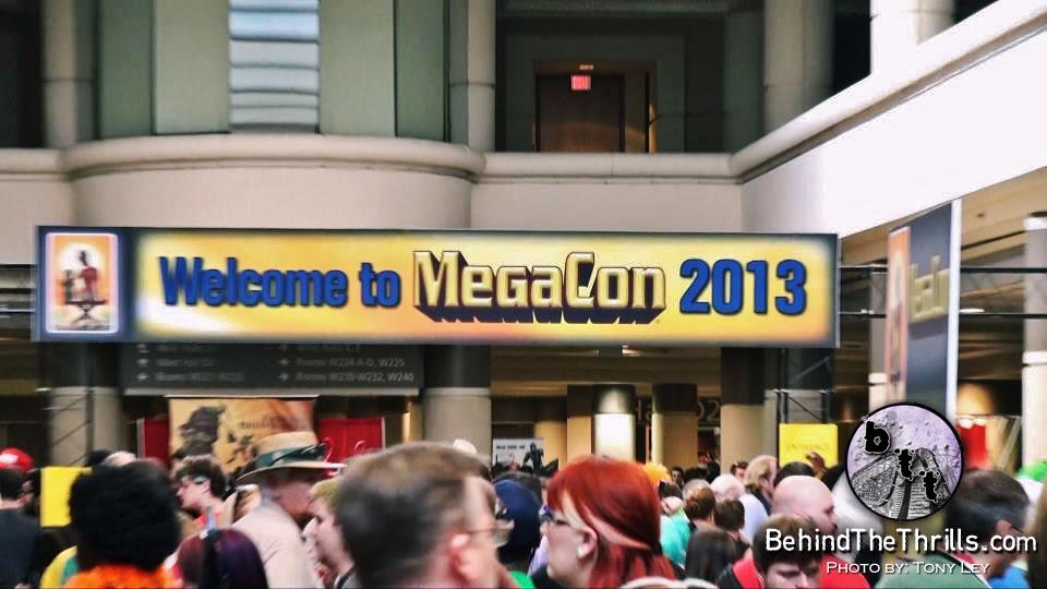 megacon entrance