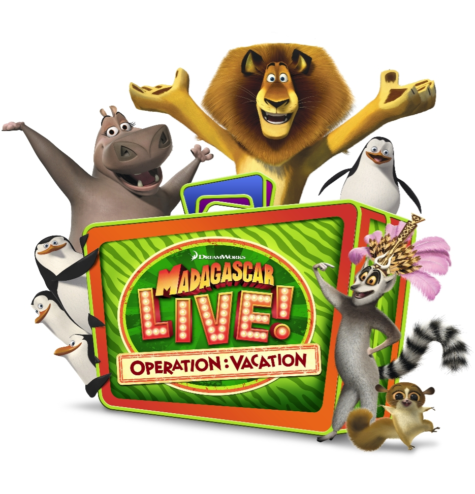Full logo with characters