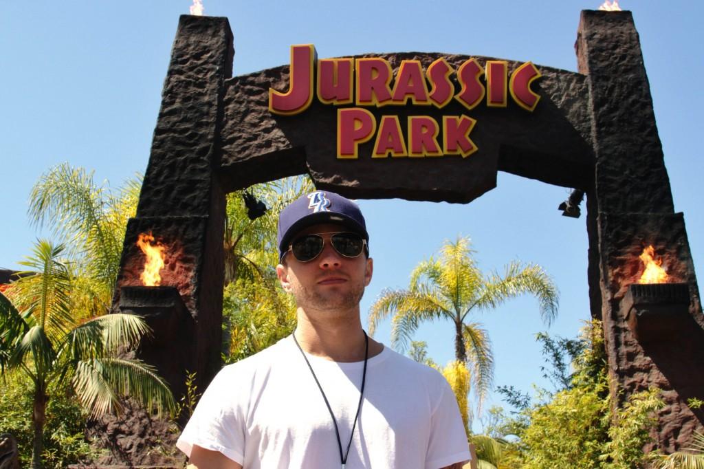 Ryan Phillippe at Jurassic Park