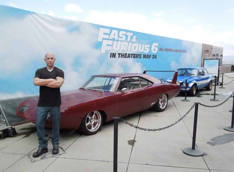 Fast Furious6 movie cars