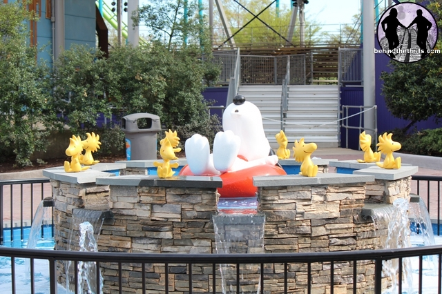 Planet Snoopy Fountain