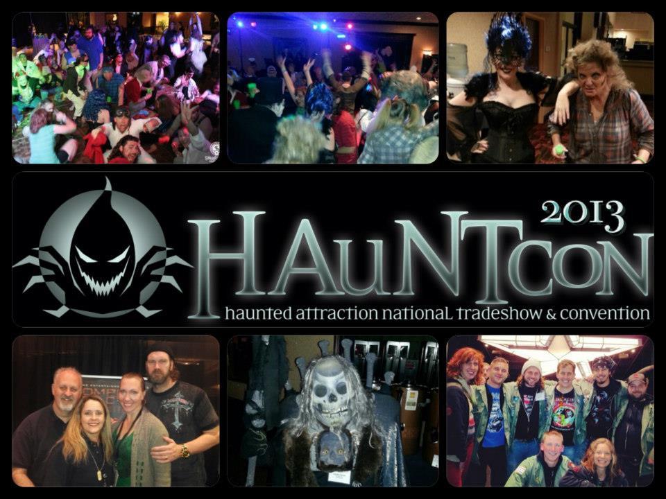 hauntcon collage