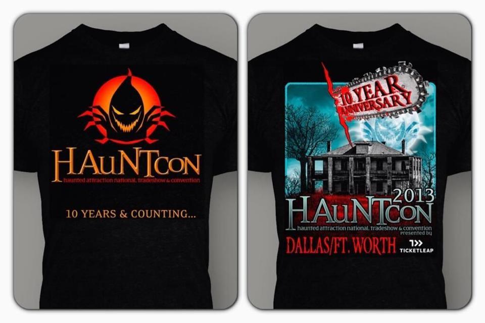 hauntcon shirts