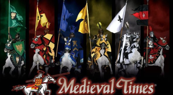Buy tickets for Medieval Times Dinner & Tournament, North America's #1 dinner show. Check showtimes and see our latest coupons. Travel through the mists of time to a forgotten age at Medieval Times Dinner & Tournament.