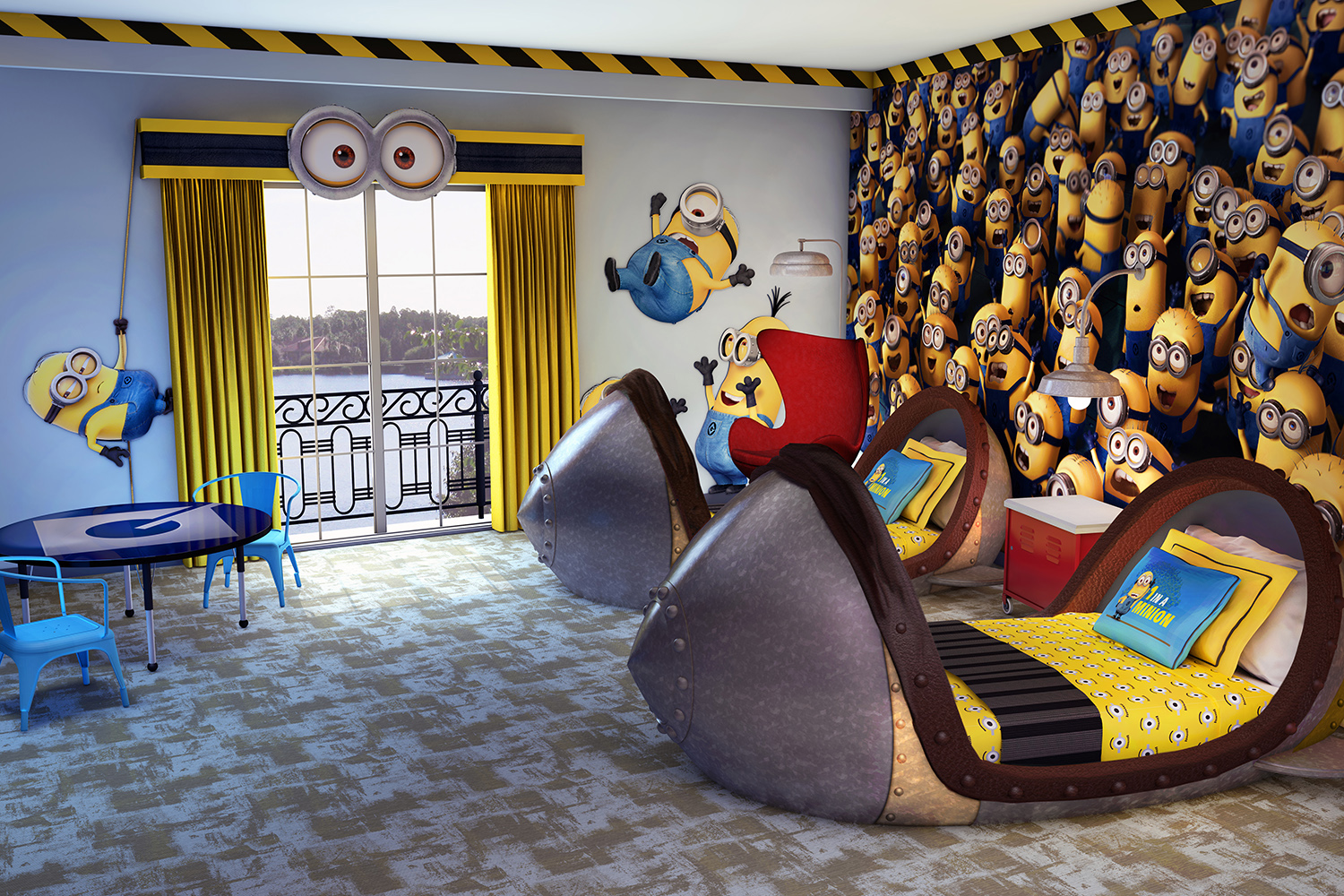 Behind The Thrills Sleep Like A Minion At All New