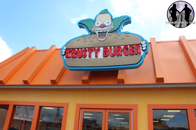 Behind The Thrills Simpsons Fast Food Boulevard Adds A Taste Of