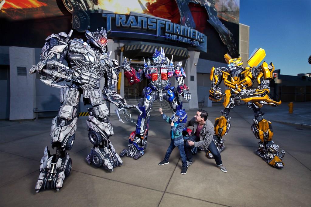 Transformers Characters-Megarton,Optimus Prime, BumbleBee
