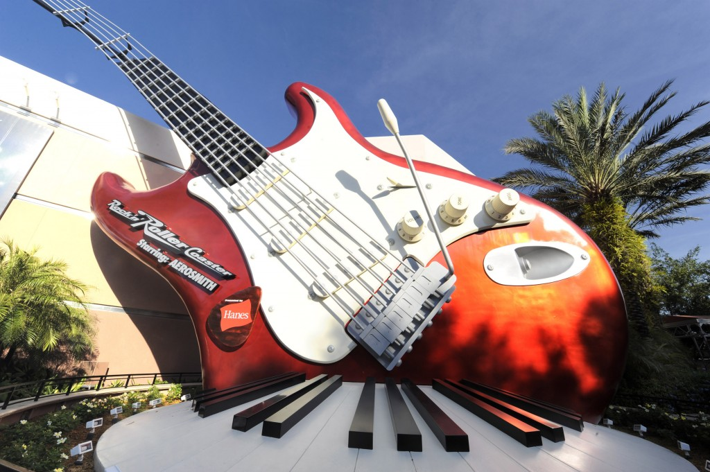 """Rock 'n' Roller Coaster Starring Aerosmith"" at Disney's Hollywood Studios theme park in Florida"