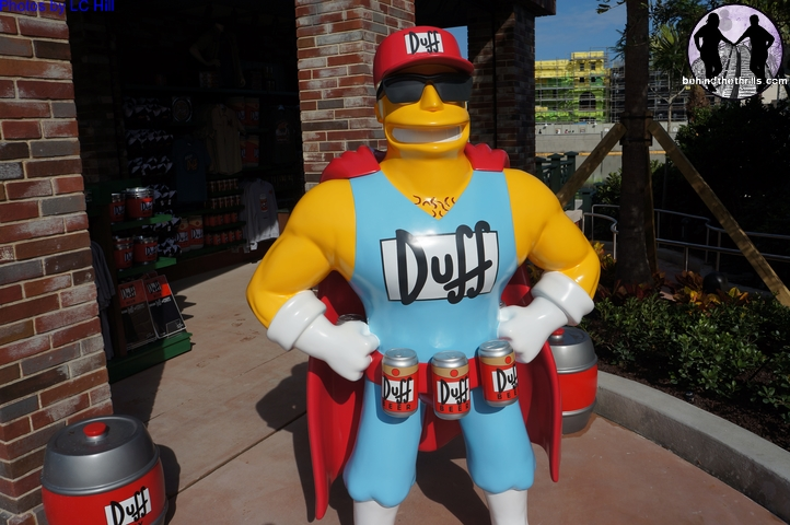 Duff is The Official Beer