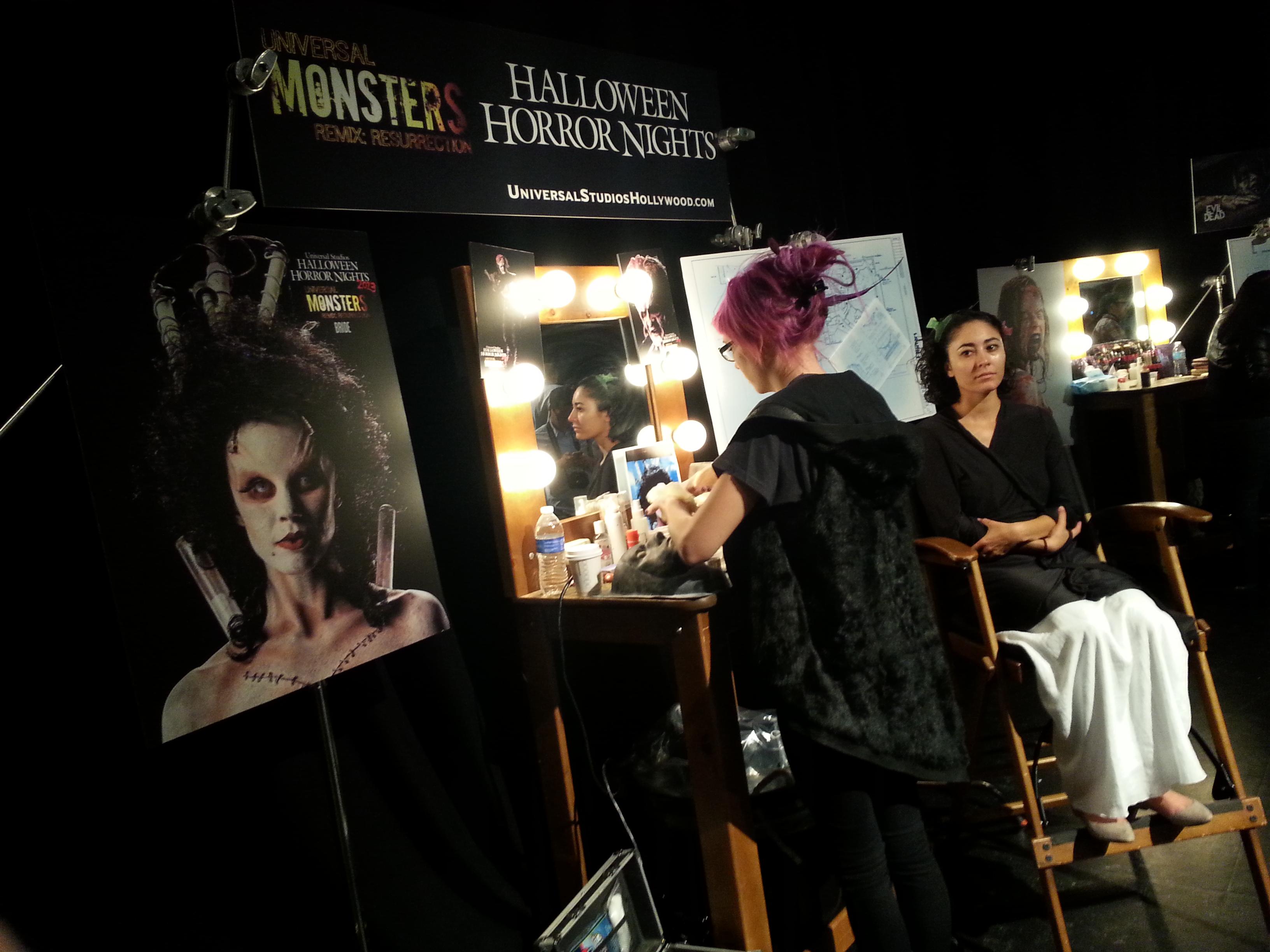 Behind the scenes halloween horror nights hollywood 2013 - Busch gardens halloween horror nights ...