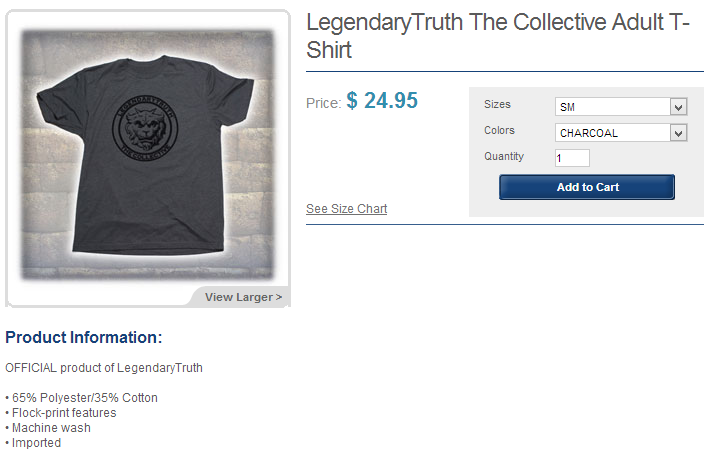 LegendaryTruth The Collective Adult T Shirt   Universal Orlando™