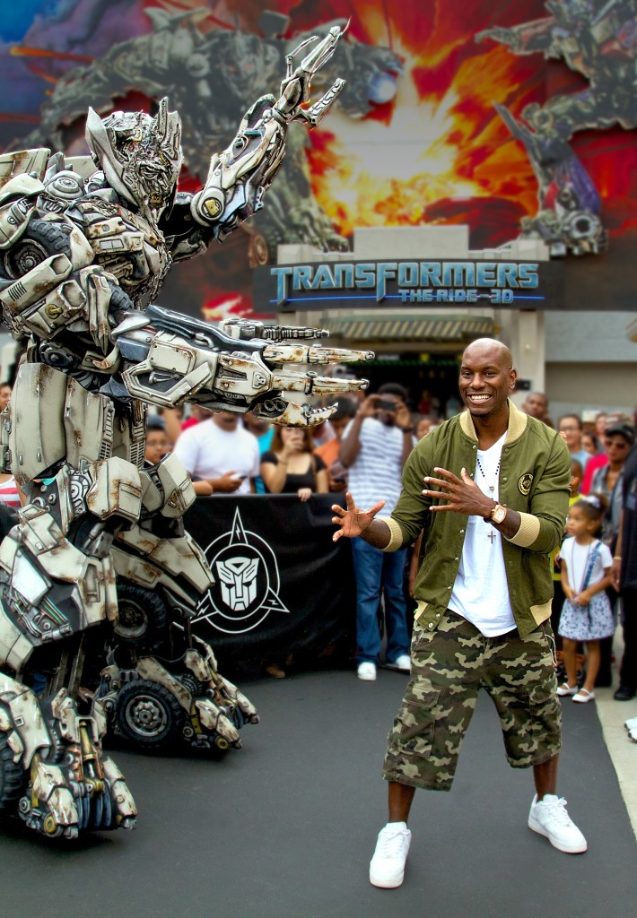 TYRESE GIBSON TF3D RIDE