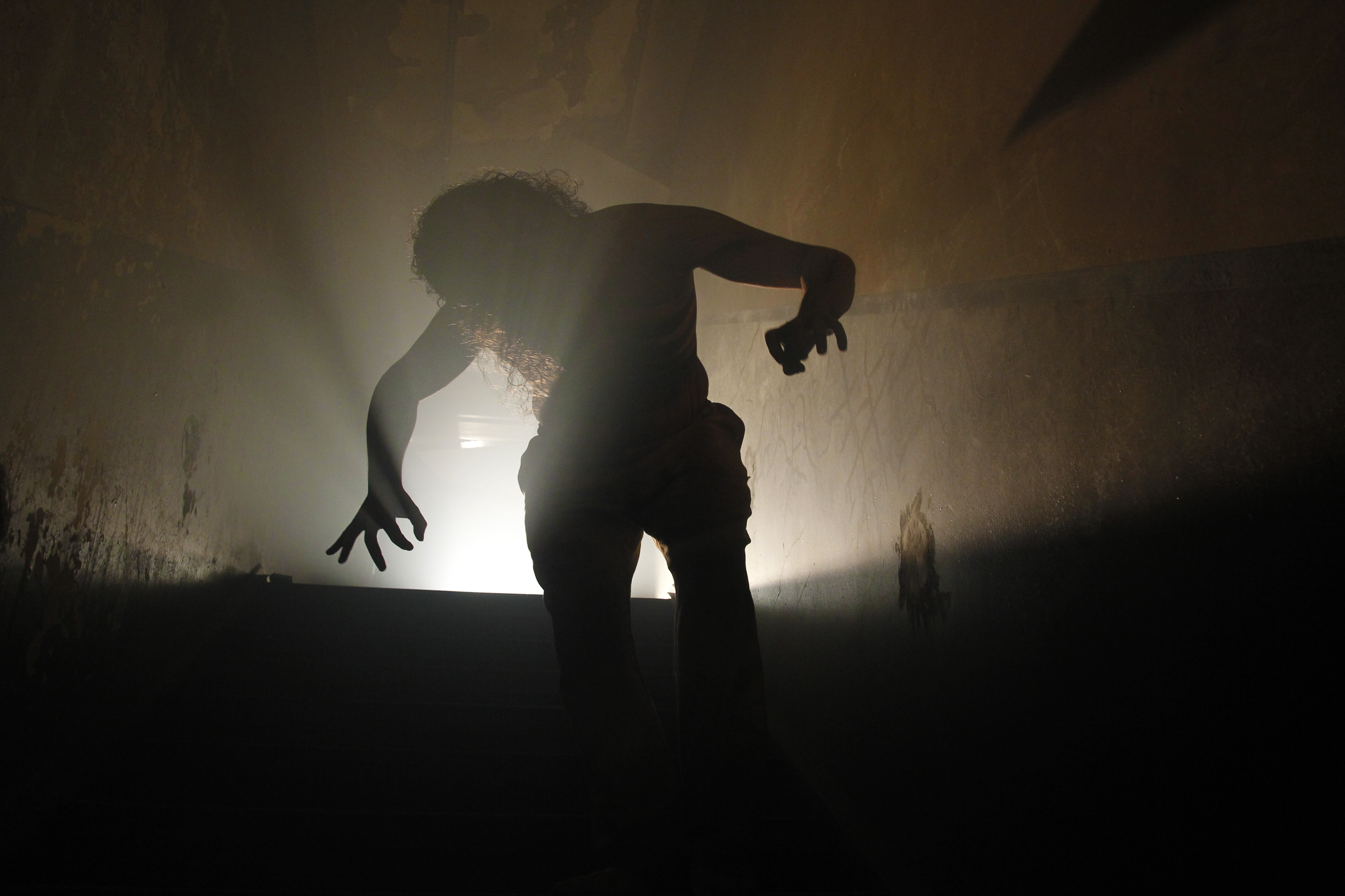 behind the thrills scarehouse takes you into the basement where your