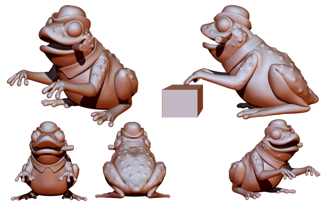 Singing Mushrooms Frog Mold 2014