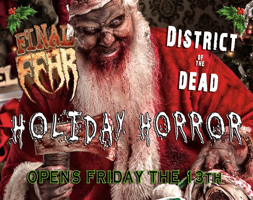 The thrills holiday fear haunted attractions open for christmas