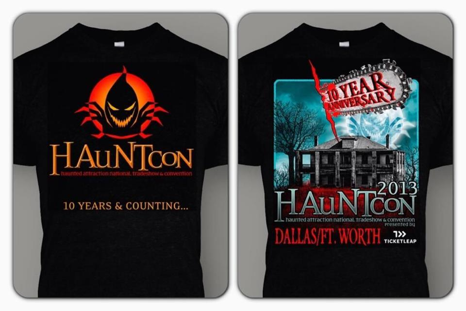 hauntcon shirts