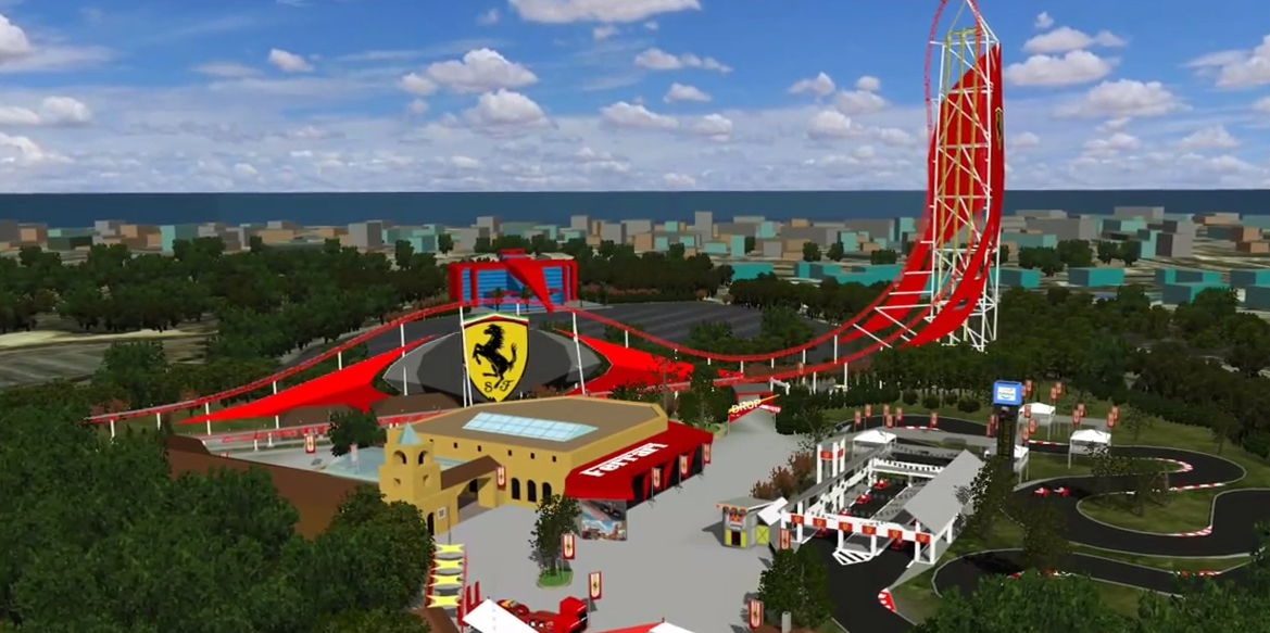 behind the thrills go on a virtual tour of port aventura s ferrari land with no limits 2. Black Bedroom Furniture Sets. Home Design Ideas