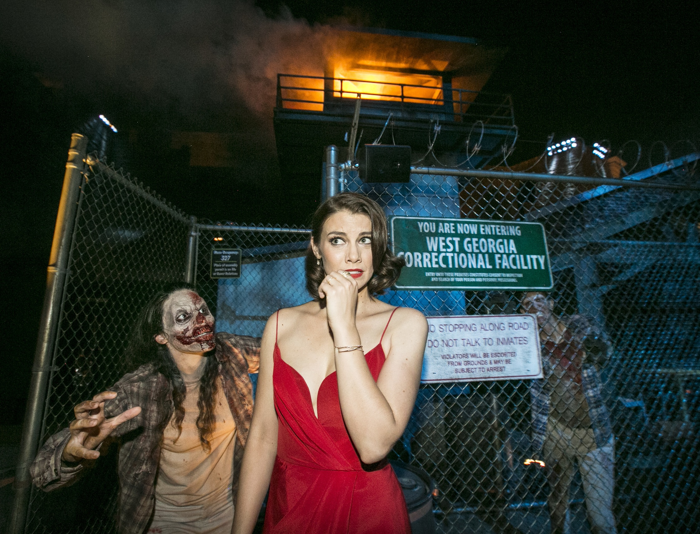 Behind the Thrills | Stars of The Walking Dead celebrate the world ...