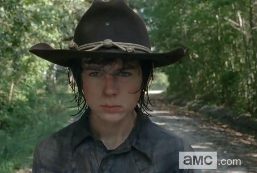 Walking Dead Carl Wallpaper The-walking-dead-carl