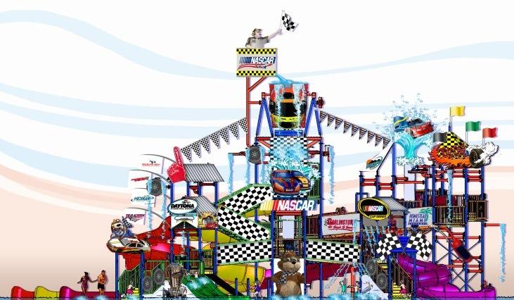 NASCAR themed AquaPlay