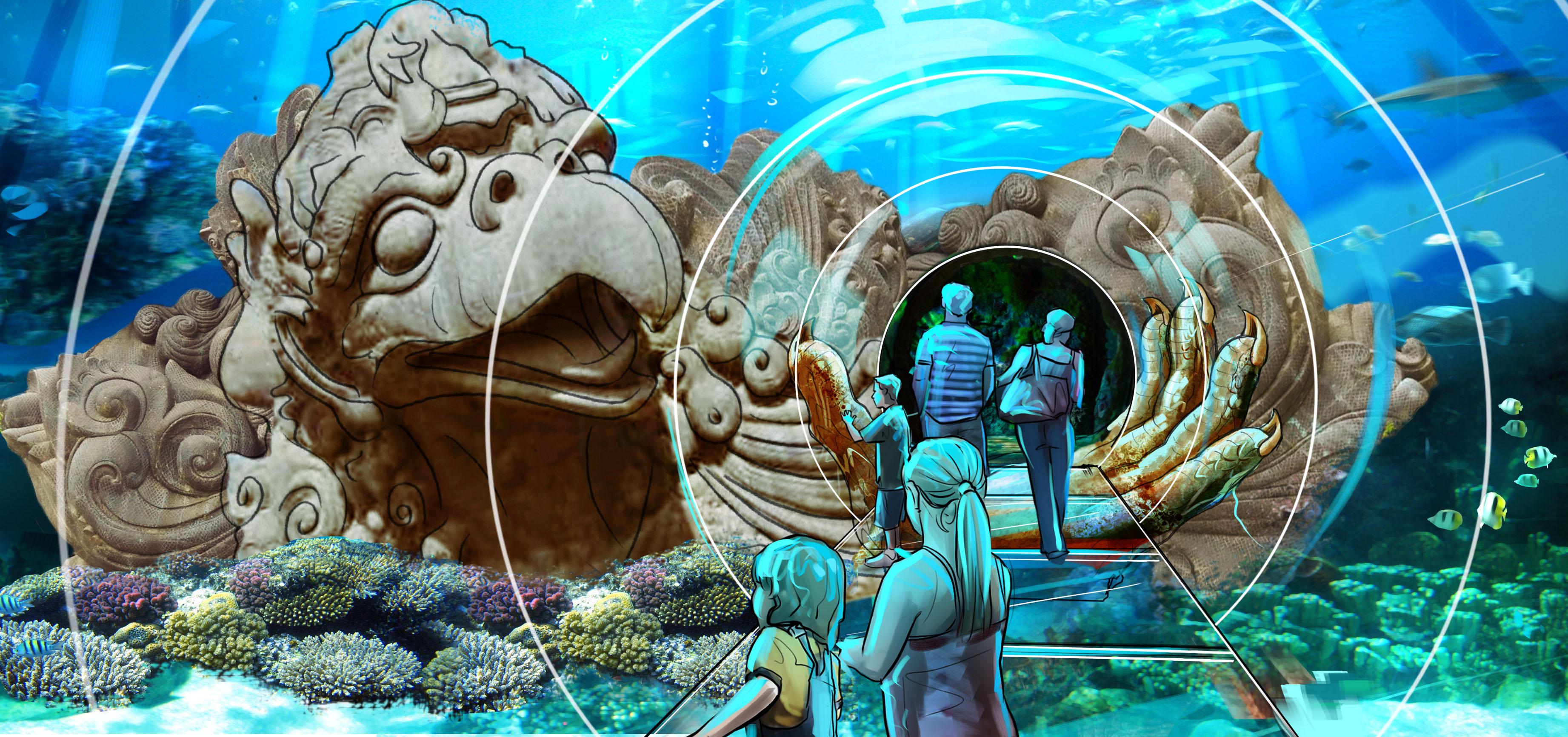 Behind The Thrills 360 Degree Underwater Tunnel Gets