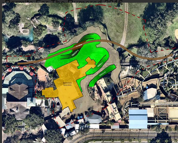 Behind The Thrills Busch Gardens Tampa Files Permits For