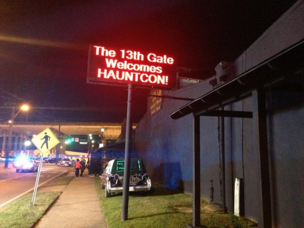 hauntcon 2015 13th gate welcome