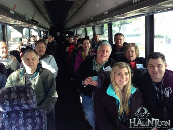 hauntcon 2015 bus filled